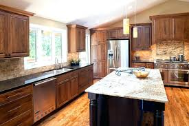 Black Granite Countertops With White Cabinets Mesmerizing Kitchen Galaxy Traditional Cherry Dark Wood
