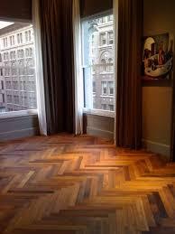 Staining Wood Floors Darker by Flooring Interesting Dark Bruce Hardwood Floors With White Parson