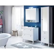 spiegelschrank ole weiß mit led spiegelle 81 cm 153 87