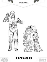 STAR WARS THE FORCE AWAKENS Coloring Pages And Activity Sheets