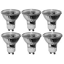 pack of 6 bulbs 35 watt gu10 halogen bulb 120 volt gu 10 halogen