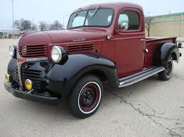 100 1946 Dodge Truck Pickup Step Side Wood Bed 6cyl Manual 4 Speed Restored