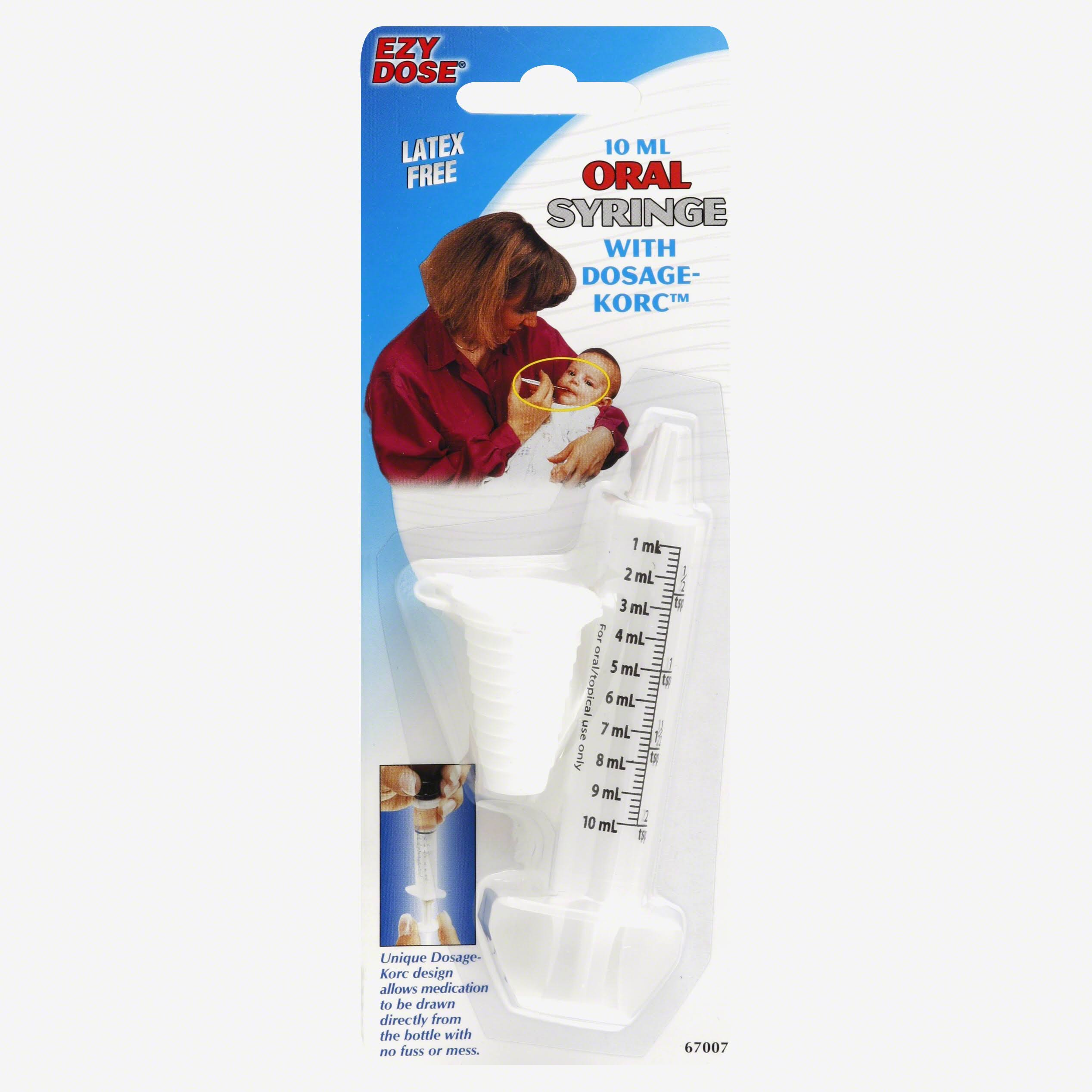 Ezy Dose Dosage Korc Oral Syringe