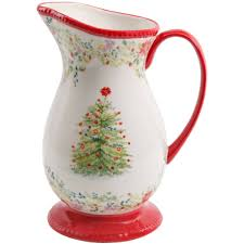 Christmas Tree Storage Container Walmart by The Pioneer Woman Holiday Cheer Pitcher 2 Qt Walmart Com