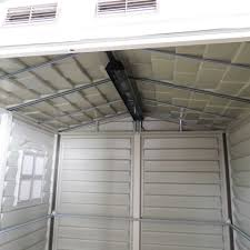 6x6 Shelterlogic Storage Shed by Duramax 6x6 Storemate Vinyl Shed With Floor 30411 Free Shipping