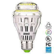 sansi a19 15w 150 125 watt equivalent ceramic led light bulb