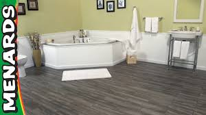 Vinyl Floor Underlayment Bathroom by Flooring Luxury And Durable Vinyl Plank Flooring Menards