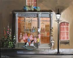 Bobbetts Old Fashioned Toy Shop Applegates Tea Dolly Sits Alone Lucinda