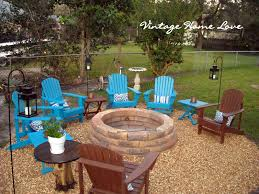 Pea Gravel Patio Plans by Exterior Design Interesting Patio Design With Lowes Fire Pit And