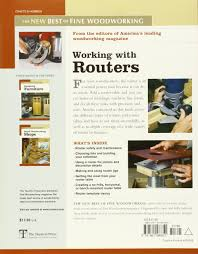 working with routers fine woodworking amazon co uk editors of