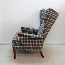 vintage wingback chair cozy to relax or sleep all home decorations