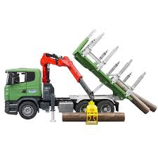 100 Bruder Tow Truck Toys Scania RSeries Scale 116 Crane Timber With 3