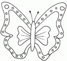 Kids Coloring Pages Butterfly