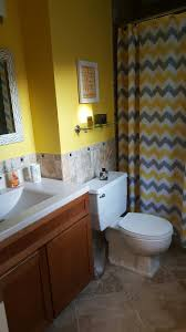 Yellow Grey Bathroom Ideas by Yellow And Gray Bathroom Bathroom Ideas Pinterest Grey Bathrooms