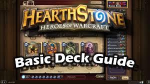 Priest Deck Hearthstone Basic by Deck Archetypes In Hearthstone Esports Edition
