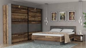 schlafzimmer clif binou wood vintage beton dunkelgrau
