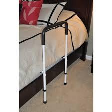 drive medical adjustable height home bed assist handle walmart com