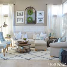 Teal Living Room Set by Modern Rustic Dining U0026 Living Room Orc Living Room Reveal