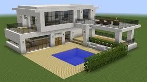 100 A Modern House Minecraft How To Build A Modern House 5 YouTube