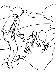 Sports Photograph Coloring Pages Kids Winter