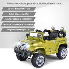 Amazon.com: Costzon Ride On Jeep Car, 12V 2WD Powered Truck, Manual ... Jeronimo Monster Ride On Truck Details About 12v Kids On Car Rc Remote Control W Led Jual Obral Tomindo Toys Ct619 Biru Mainan Anak Amazoncom Costzon Jeep 2wd Powered Manual Fire More Onceit Best Choice Products Semi Big Shop Costway Suv Mp3 Electric Cars For Toddlers Jay Goodys Forklift With Combustion Engine Rideon Truckmounted Handling Rideon Toy Trucks Ragle Design