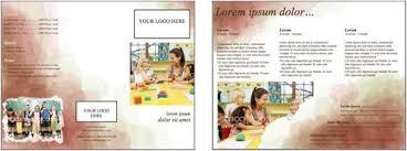 Word Brochure Design Template