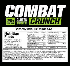 210 Calories 7g Fat 28g Carbs 20g Protein
