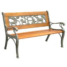 Garden Treasures Patio Furniture Cushions by Bench Bench Lowes Shop Garden Treasures In W X L Patio Bench At