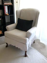 Oversized Wingback Chair Slipcovers by Awesome Wingback Recliner Chair Covers Wingback Chair Covers