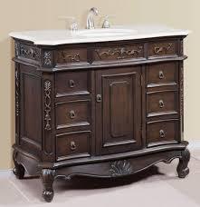 46 Inch Wide Bathroom Vanity by Traditional 40 Inch White Quartz Counter Bathroom Vanity