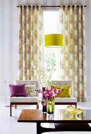 modern yellow curtain styles designs 2015 for living room living