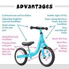 Amazoncom Bandit Bicycles Balance Bike For Kids Super Light