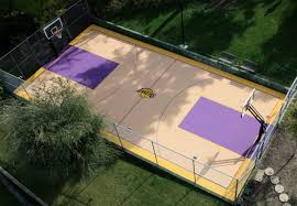 BasketPorn Top 13 Backyard Basketball Courts - BasketPorn Multisport Backyard Court System Synlawn Photo Gallery Basketball Surfaces Las Vegas Nv Bench At Base Of Court Outside Transformation In The Name Sketball How To Make A Diy Triyaecom Asphalt In Various Design Home Southern California Dimeions Design And Ideas House Bar And Grill College Park Half With Hill