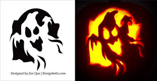 Cute Pumpkins Stencils by 5 Easy Yet Simple Halloween Pumpkin Carving Patterns Stencils