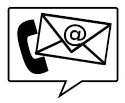phone email clipart