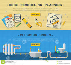 Home Repair 2 Flat Banners Set Stock Vector - Image: 64567147 85 Great Luxurious Kitchen Sink Plumbing Parts With Drain Assembly Glamorous Plans For House Gallery Best Idea Home Design Swimming Pool Piping Design Home Decor Pleasing 70 Double Bathroom Kit Decorating Manual Haynes Publishing Cool How To Install Nice Modern Sims 4 Designs Curbless Shower Build Blog Floating Bookshelves Diy Interior Designers Causes Of Basement Flooding Ulities Kingston Fantastic Diagram 57 Just With Lighting Circuit Wiring Photo Ipirationstd