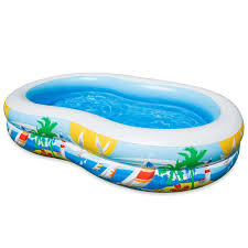 Intex Paradise Seaside Blow Up Pool