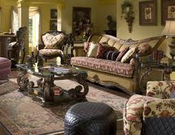 fancy michael amini living room furniture including italian