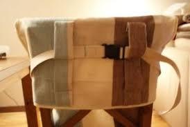 chaise b b nomade une chaise nomade en tissu pour bb boule2laine créative