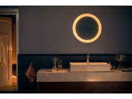 philips hue adore badezimmerleuchte mit spiegel dimmerswitch weiss