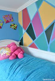 Tween Bedroom DIY Wall Design With Frogtape Copy