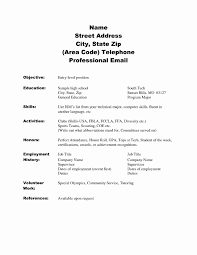 Ffa Officer Resume Examples Authentic 15 Lovely Sample Special Skills In Templates