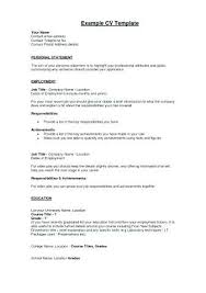 14 Personal Statement Examples For Jobs