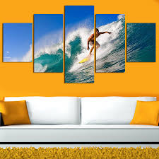 Decorative Surfboard Wall Art by Impressive Decoration Surf Wall Art Bright Ideas Surfboard Wall