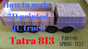 3D Printing RC Truck 1/10 Body Tatra 813 - Spring Test | 3d Print ... Bodies Parts Cars Trucks Hobbytown Traxxas Bigfoot 110 Rtr Monster Truck Rc Hobbies King Motor Free Shipping 15 Scale Buggies Making A Cheap Body Look More To 4 Steps Gelande Ii Kit Wdefender D90 Set Indorcstore Toko 124th Losi Micro Trail Trekker Crawler Chevy Race Jual Rc Car Ellmuscleclsictraxxasaxialshort Custom Rc Body Oakman Designs Sale Cherokee Xj Hard Plastic 313mm Wheelbase For Flytec 9118 118 24g 4wd Alloy Shell Buggy Postapocalyptic By Bucks Unique Customs