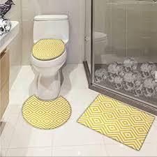carl morris gelb badematte wc vorleger set platzen