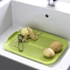 Over The Sink Colander by Flat Sink Colander Ippinka