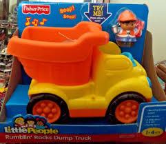 100 Little People Dump Truck FISHER PRICE LITTLE PEOPLE RUMBLIN ROCKS DUMP TRUCK R6073 2009 NEW