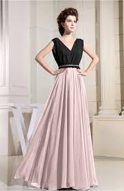 light pink evening dress informal a line chiffon floor length