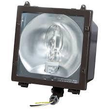 watt metal halide pulse start medium hid floodlight fixture for
